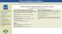 CleanerSolutions Database