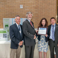 Jim White, Town of Natick, Mike Ellenbecker, TURI, Jillian Wilson-Martin & Art Goodhind, Town of Natick