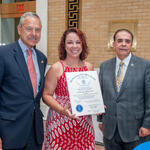 Rep Paul Schmid,III, Jen DeAguiar, Rainbow Bears Daycare Center, Rep Alan Silvia