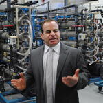 Steven Glassman, DI Water Room Supervisor, Analog Devices Tour
